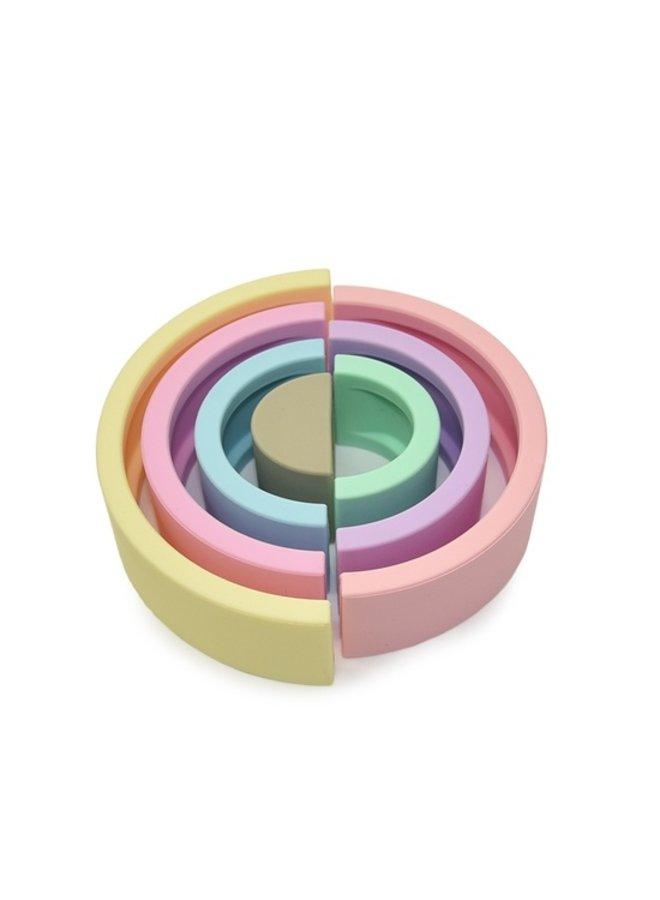 Pastel Silicone Rainbow