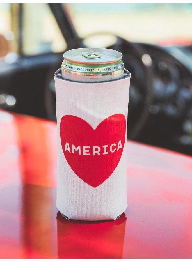 Love America Koozie