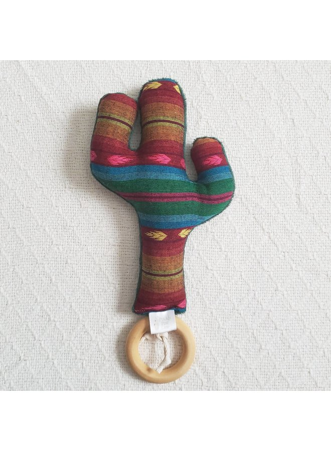 Cactus Rattle Teether