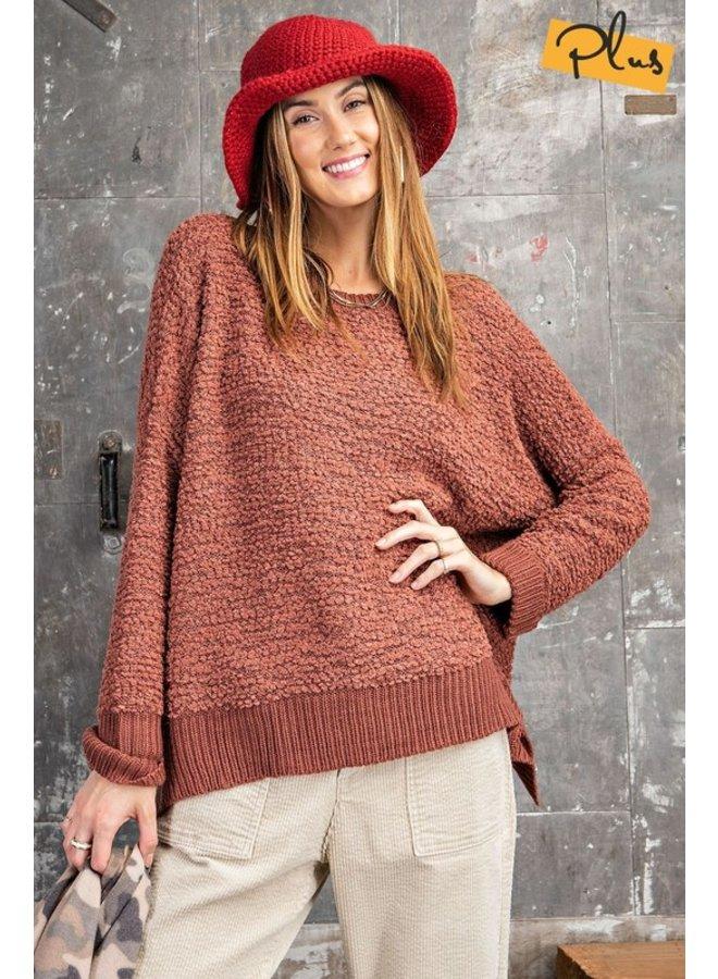 Pom-Pom Knit Sweater