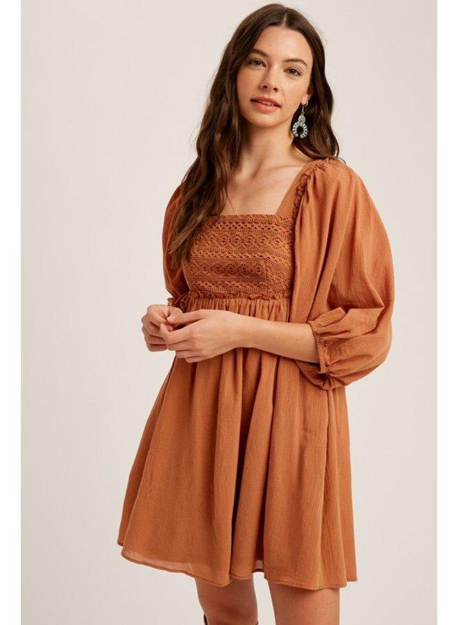 Crochet Babydoll Dress