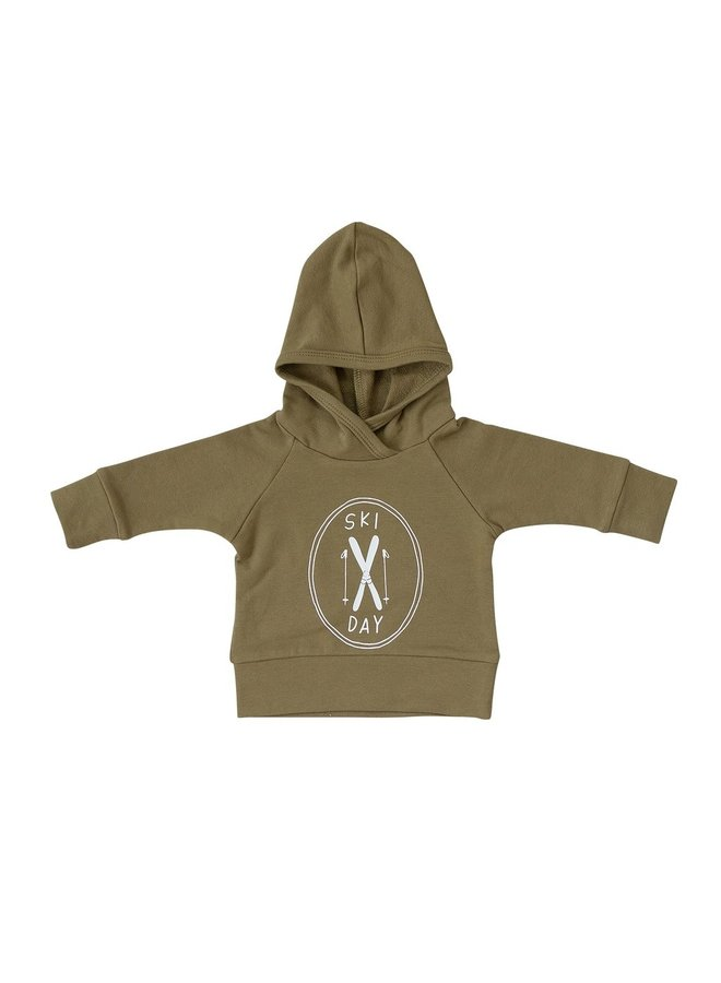 Ski Day French Terry Hoodie