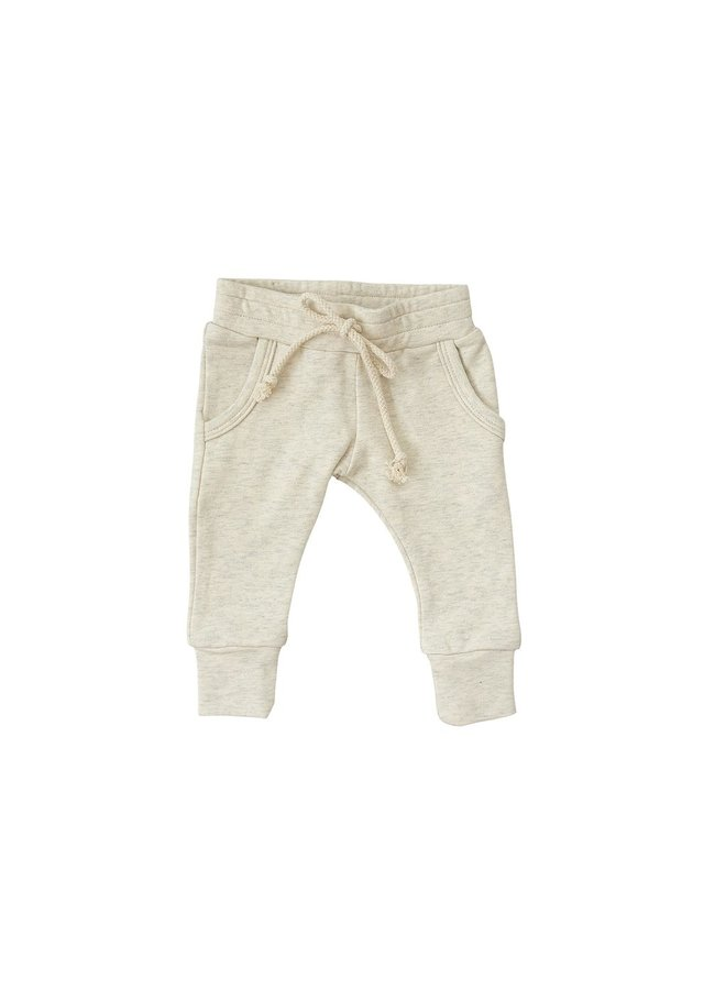 Oatmeal French Terry Joggers