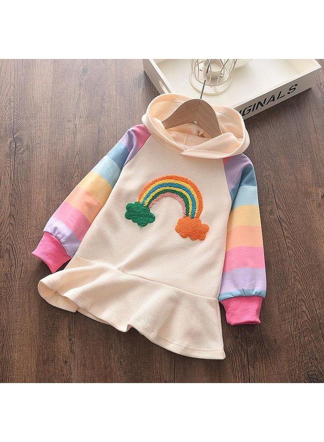 Rainbow Hoodie Tunic