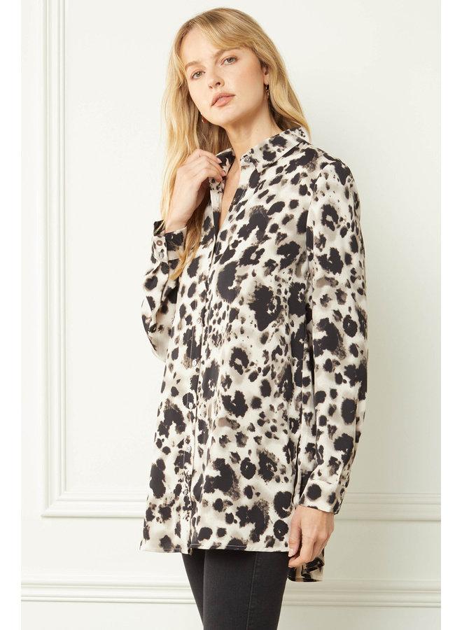 Leopard Long Sleeve Tunic