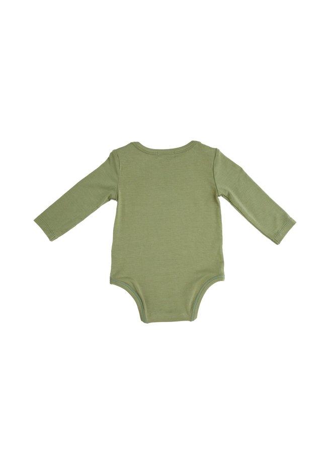 Sage Lap Shoulder Bodysuit