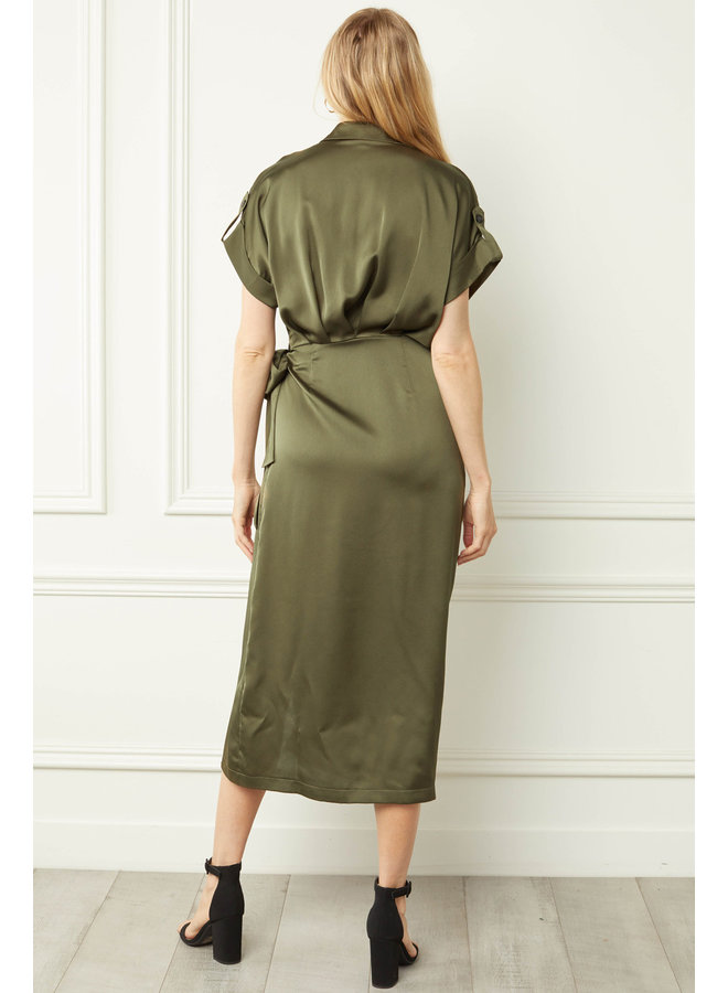 Collared Midi Dress