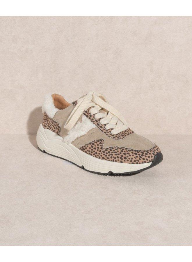 Piper Leopard Sneaker