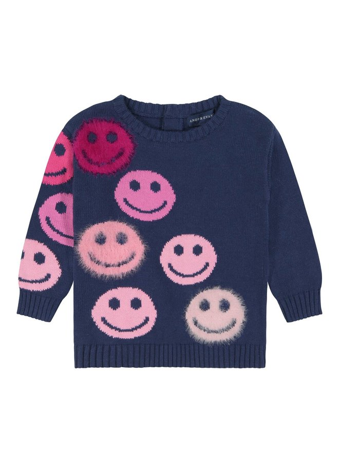 Smiley Face Sweater Tunic
