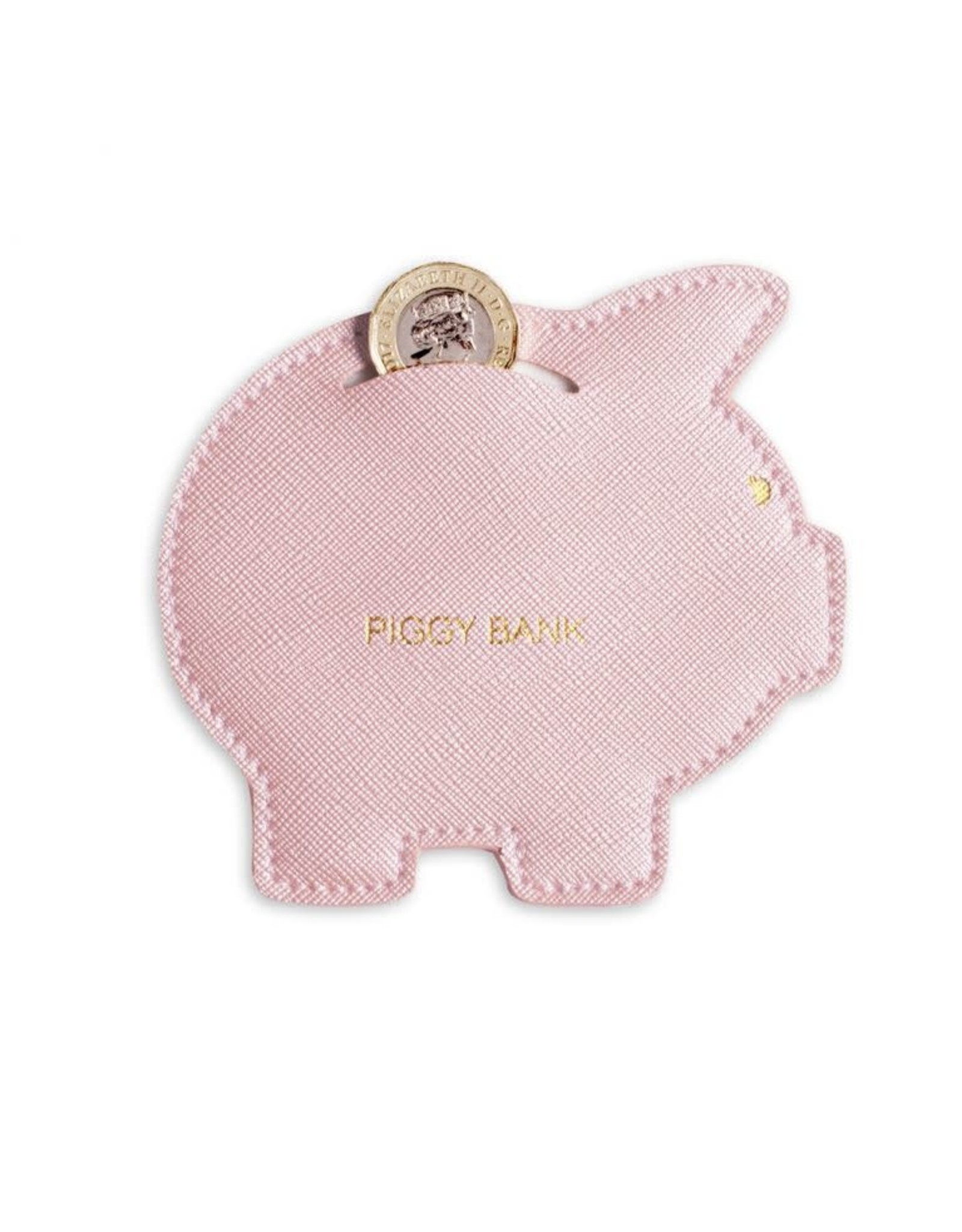 Coin Purse Piggy Bank Pink