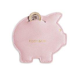 Coin Purse Piggy Bank Pink