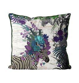 DP FF African Zebra Purple 24x24