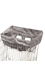 Shopping Cart Cover Grey Feather