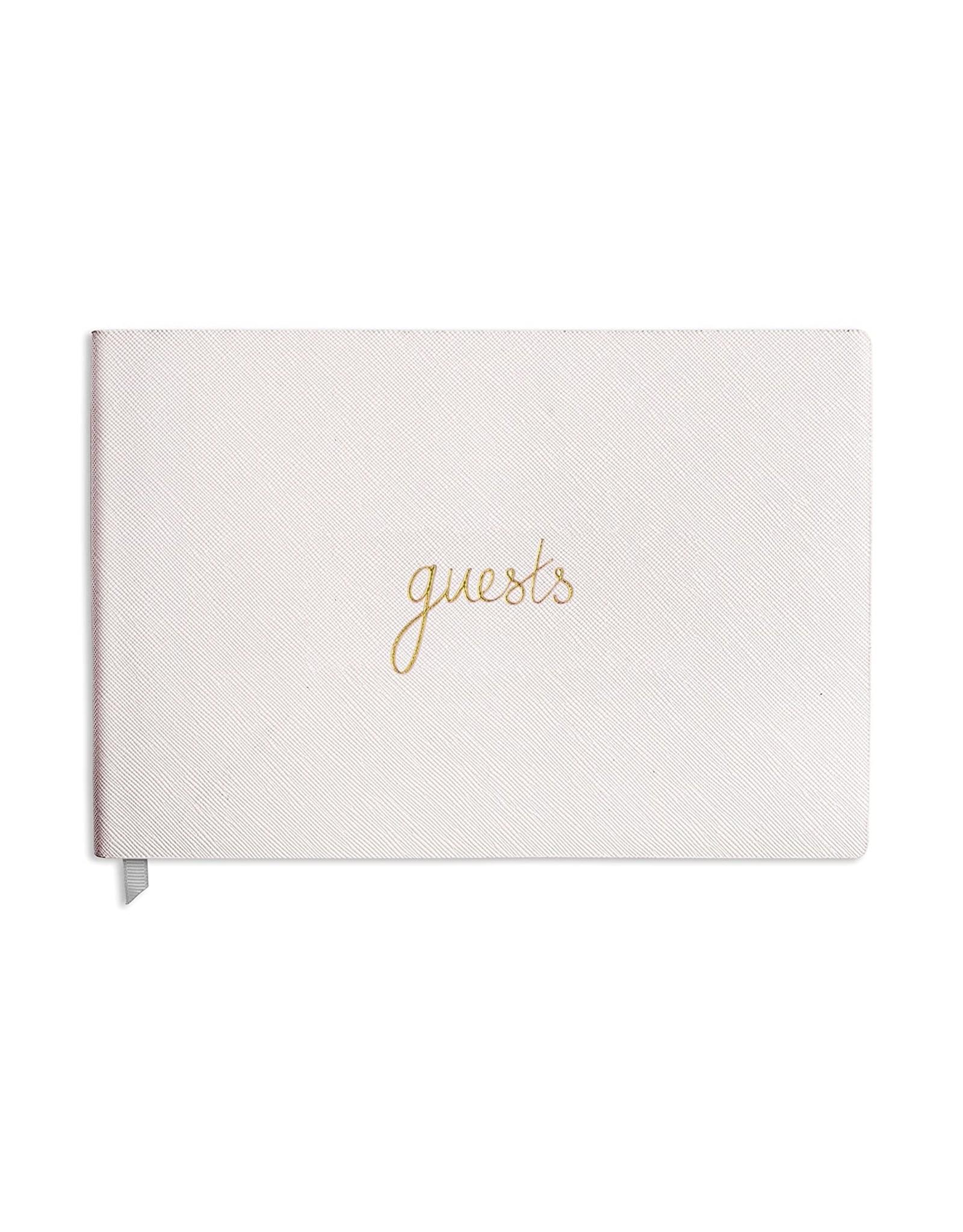 Guest Book Metallic Blush