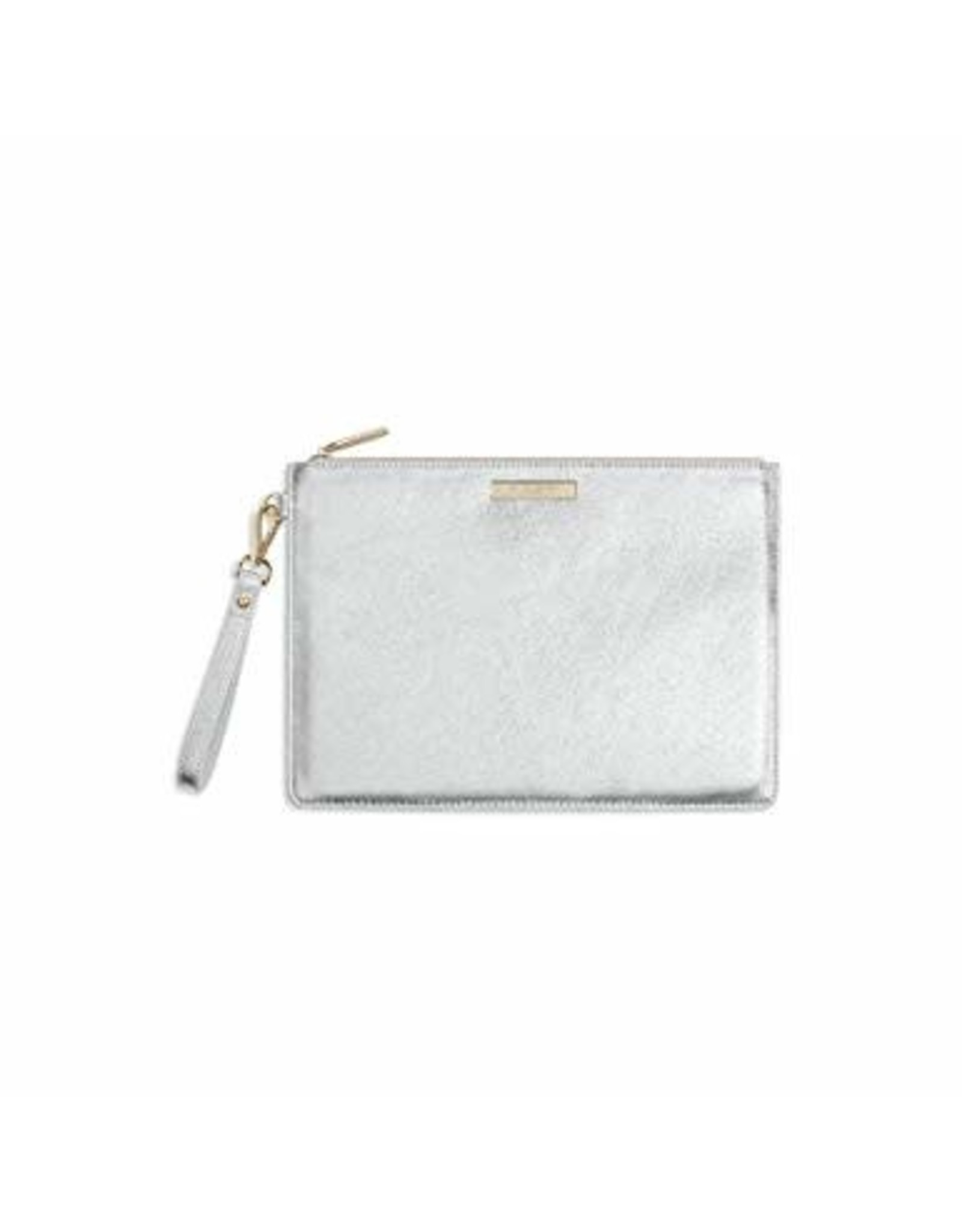 Metallic Luxe Clutch