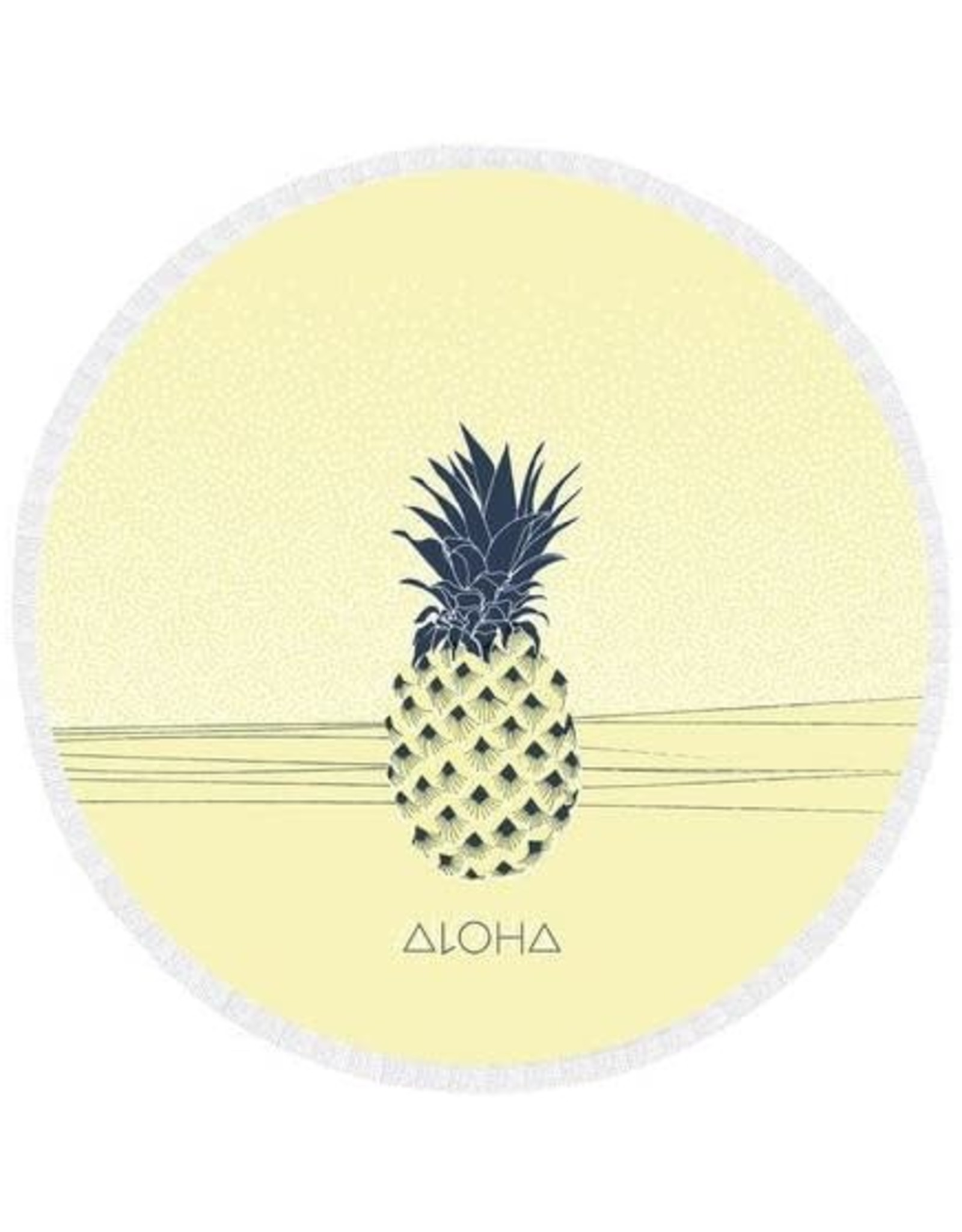 Towel Round Pineapple