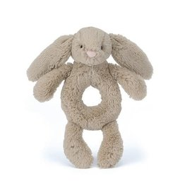 Bunny Bashful Rattle Beige