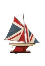 Boat Union Jack Pond Yacht