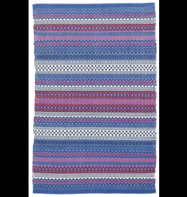 Rug Fiesta Stripe Blue/Red 2x3