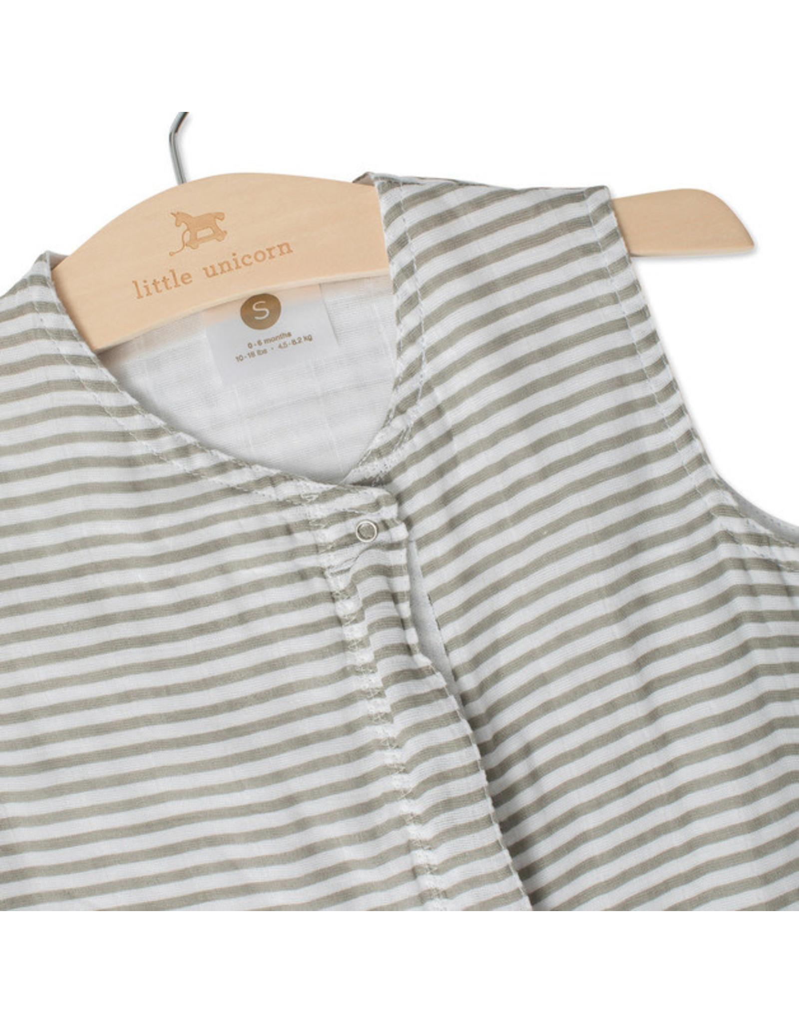 Sleeping Bag Grey Stripe M