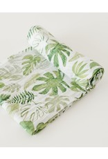 Swaddle Muslin  Topical Leaf REG LH SOLD