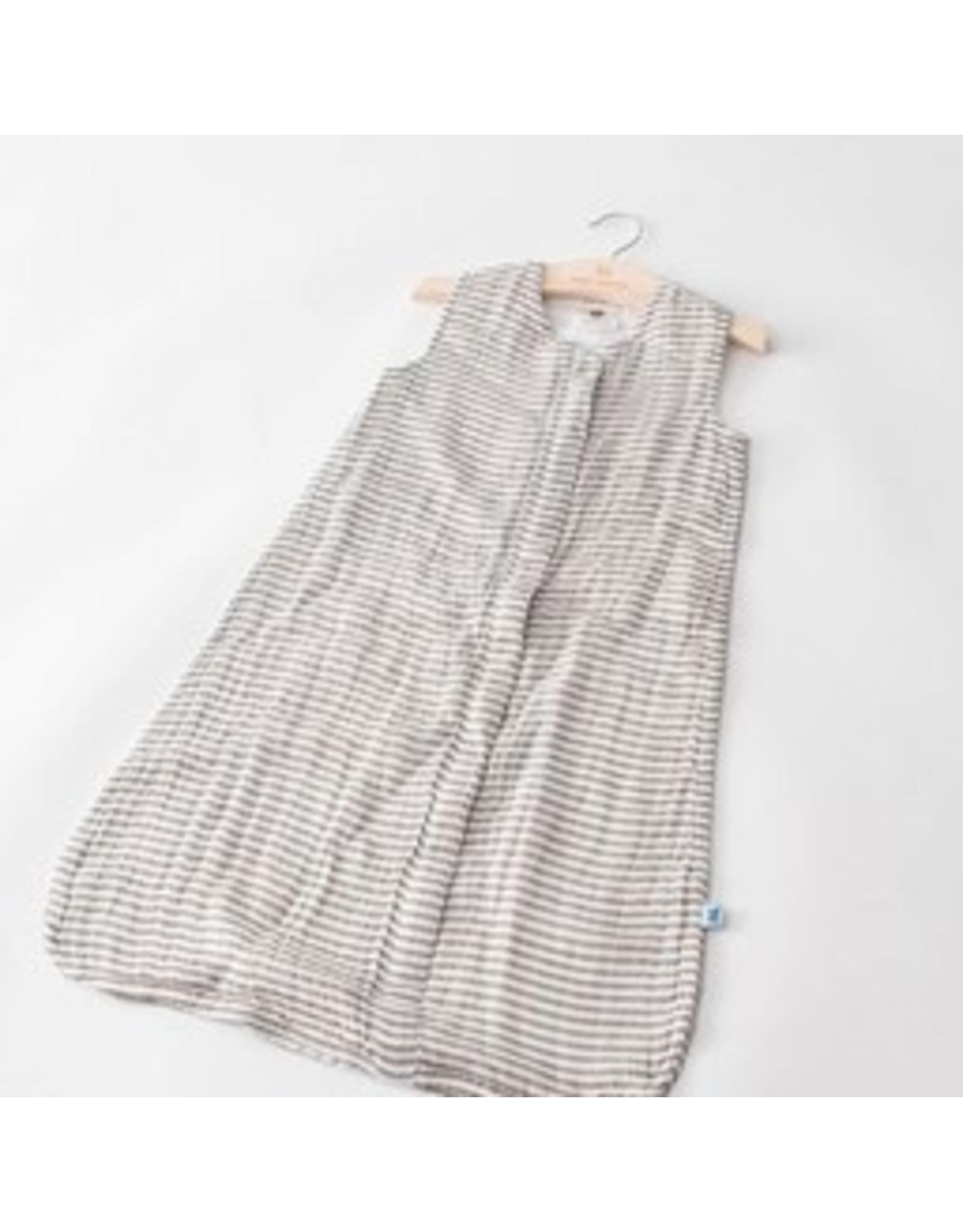 Sleeping Bag Grey Stripe M REG LH