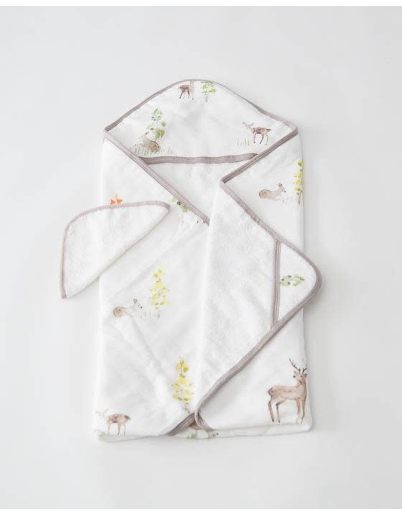 Hooded Towel Set Deer MW REG SOLD