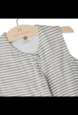 Muslin Sleeping Bag Grey Stripe Sml ES REG
