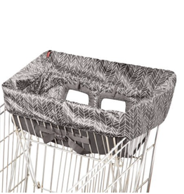 Shopping Cart Cover Grey Feather ES REG