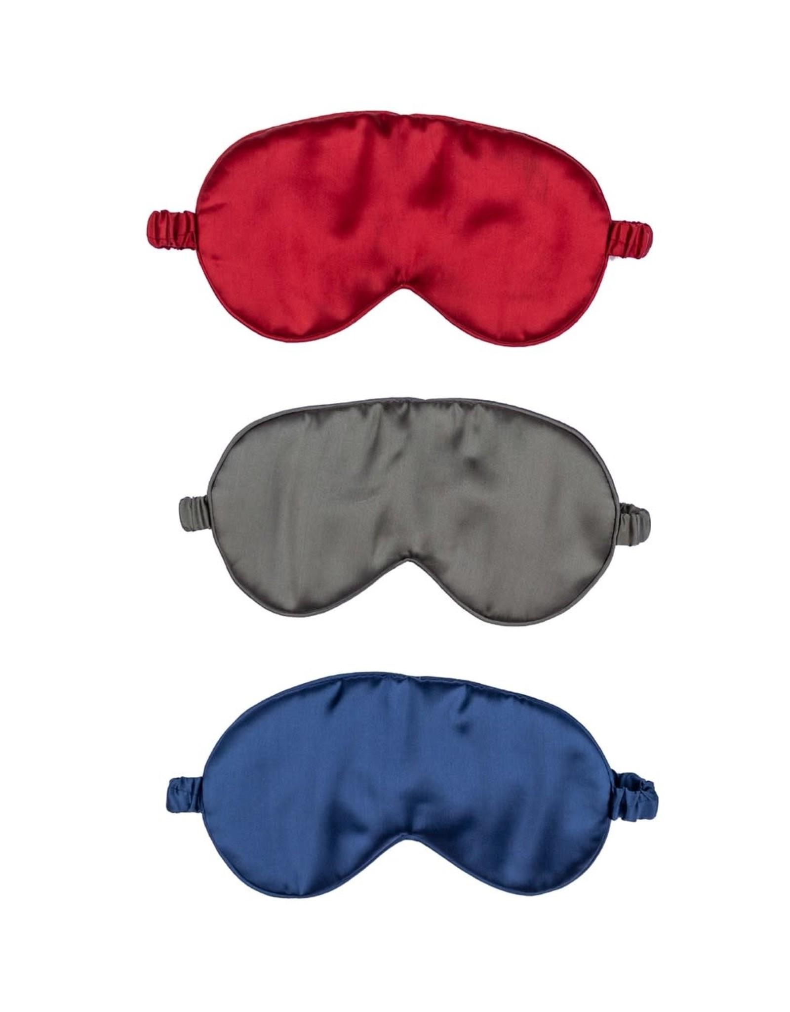 Eye Mask Silk Pewter