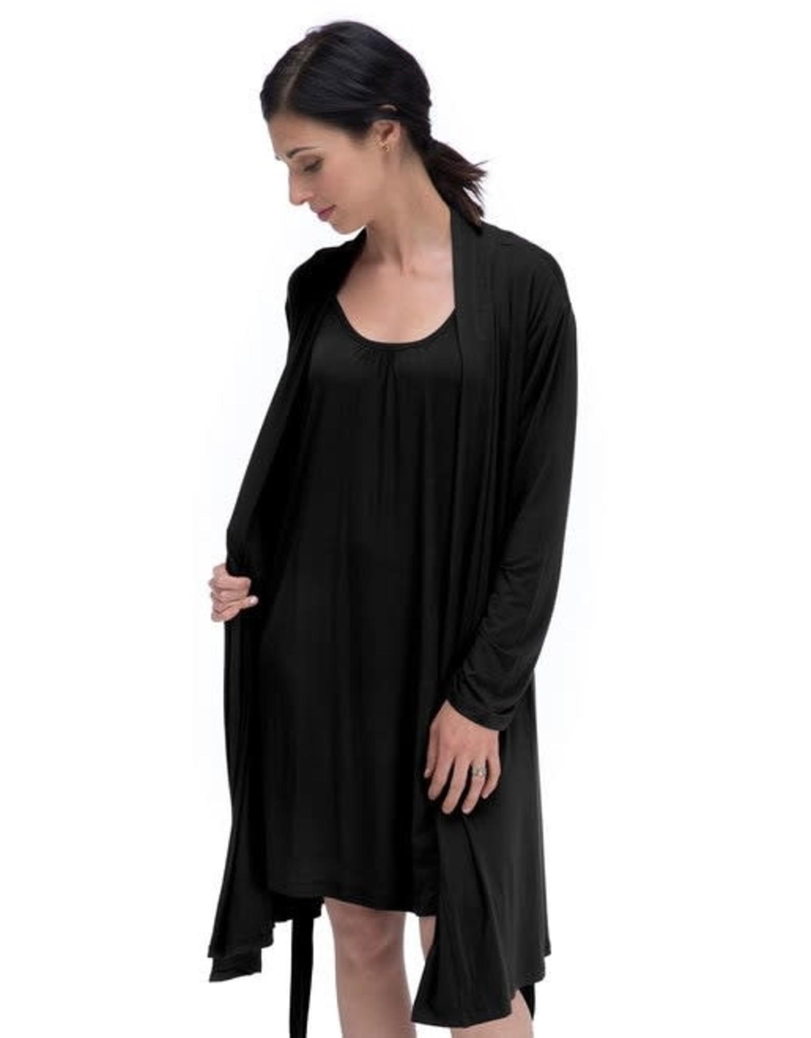 Black Bamboo Robe