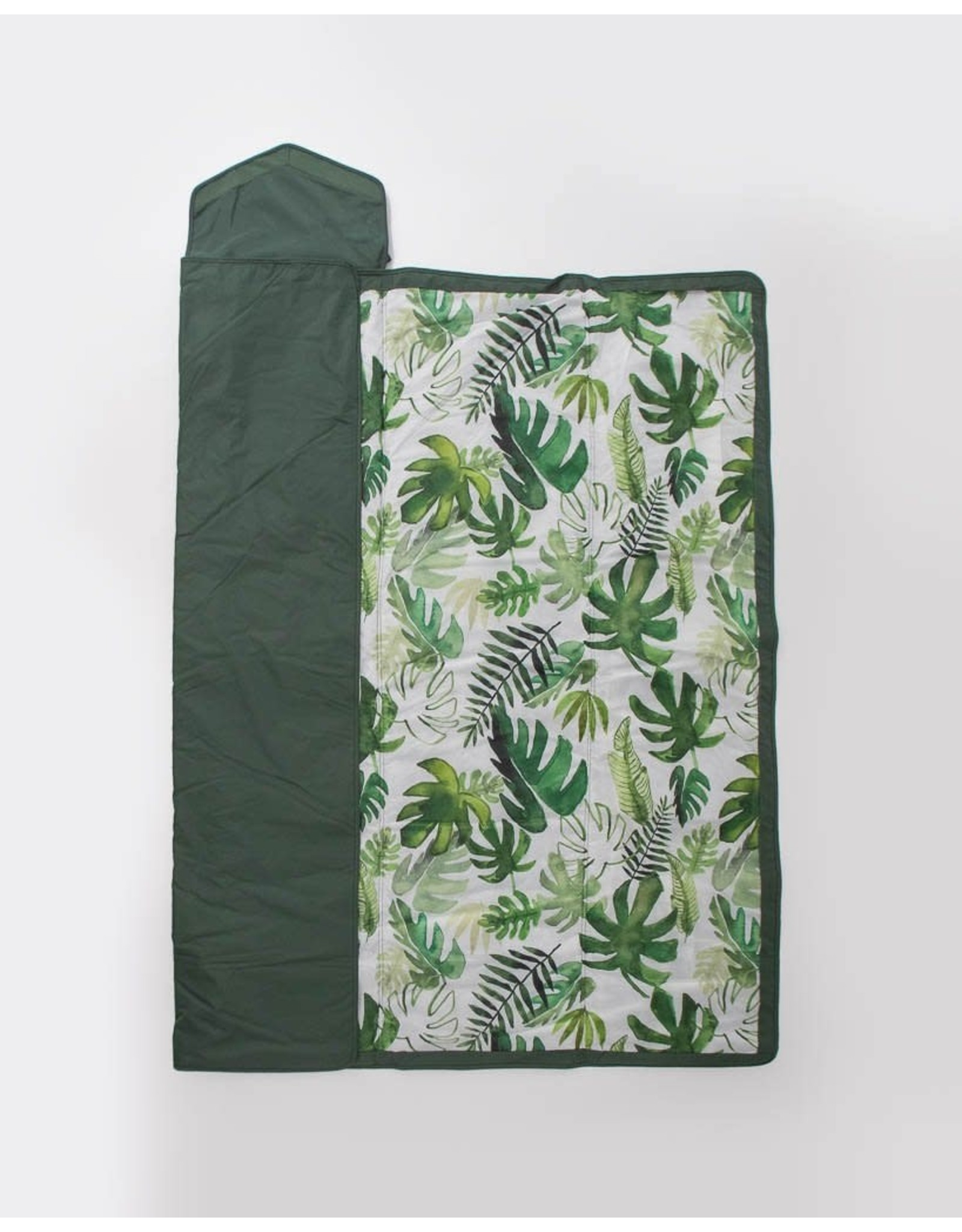 Outdoor Blanket Tropical Palm 5x5 MW REG