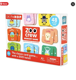 Memory Game Zoo Crew