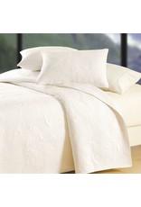Quilt - Shell Matelasse White