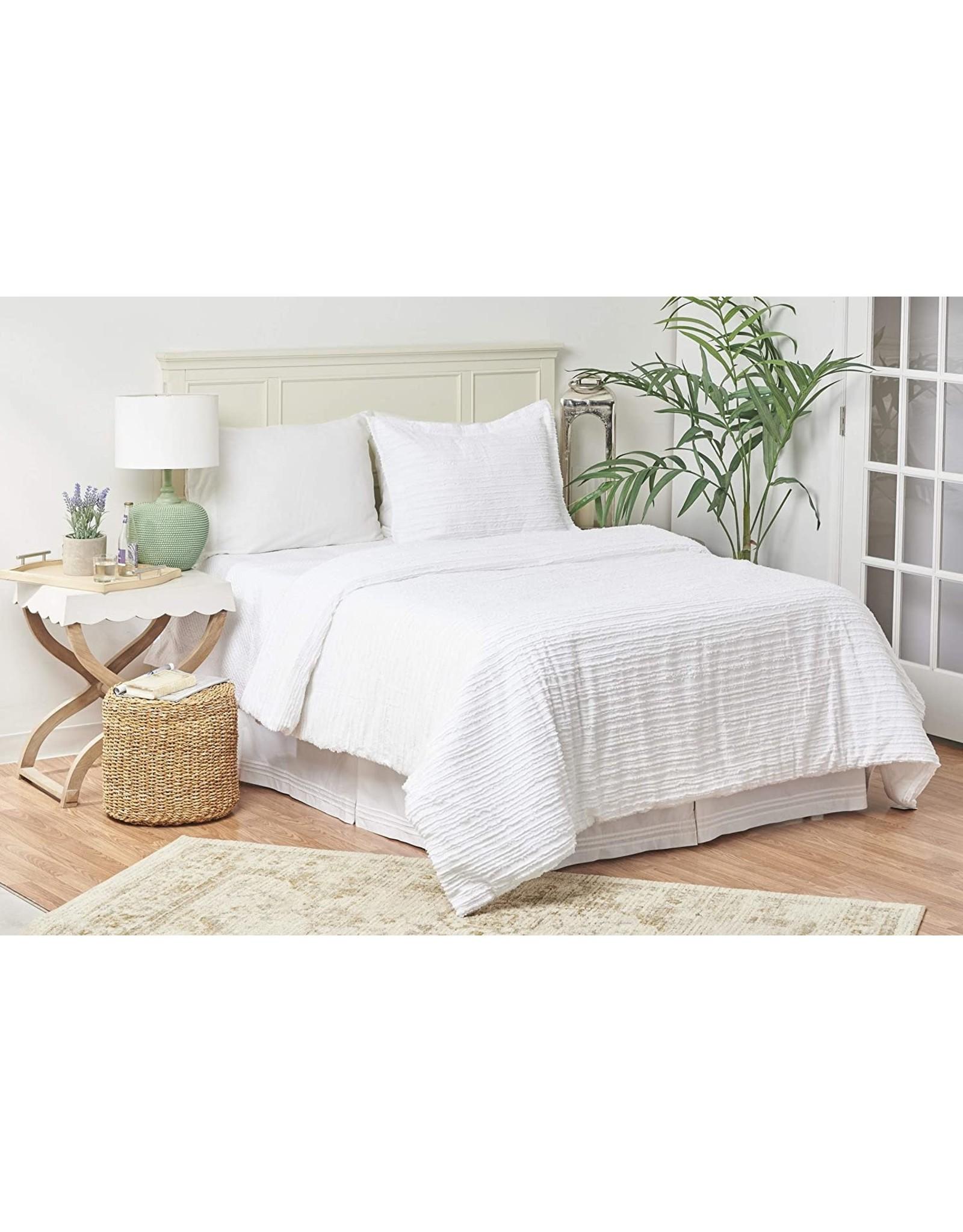 Quilt Set - Eyelashes White