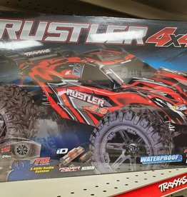 Traxxas Rustler 4X4: 1/10-scale 4WD Stadium Truck with TQ 2.4GHz radio system