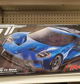 """Traxxas 83056-4_BLK Ford GT"""": 1/10 Scale AWD Supercar with TQi Traxxas Link Enabled 2.4GHz Radio System & Traxxas Stability Management (TSM)"""