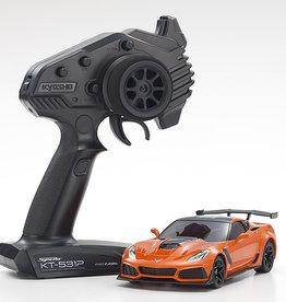 Kyosho Mini Z Corvette 2WD ZR1 Sebring Orange w/LED
