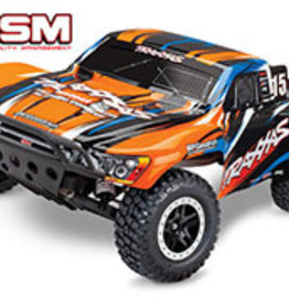 Traxxas Slash VXL: 1/10 Scale 2WD Short Course Racing Truck with TQi Traxxas Link Enabled 2.4GHz Radio System & Traxxas Stability Management (TSM) Red