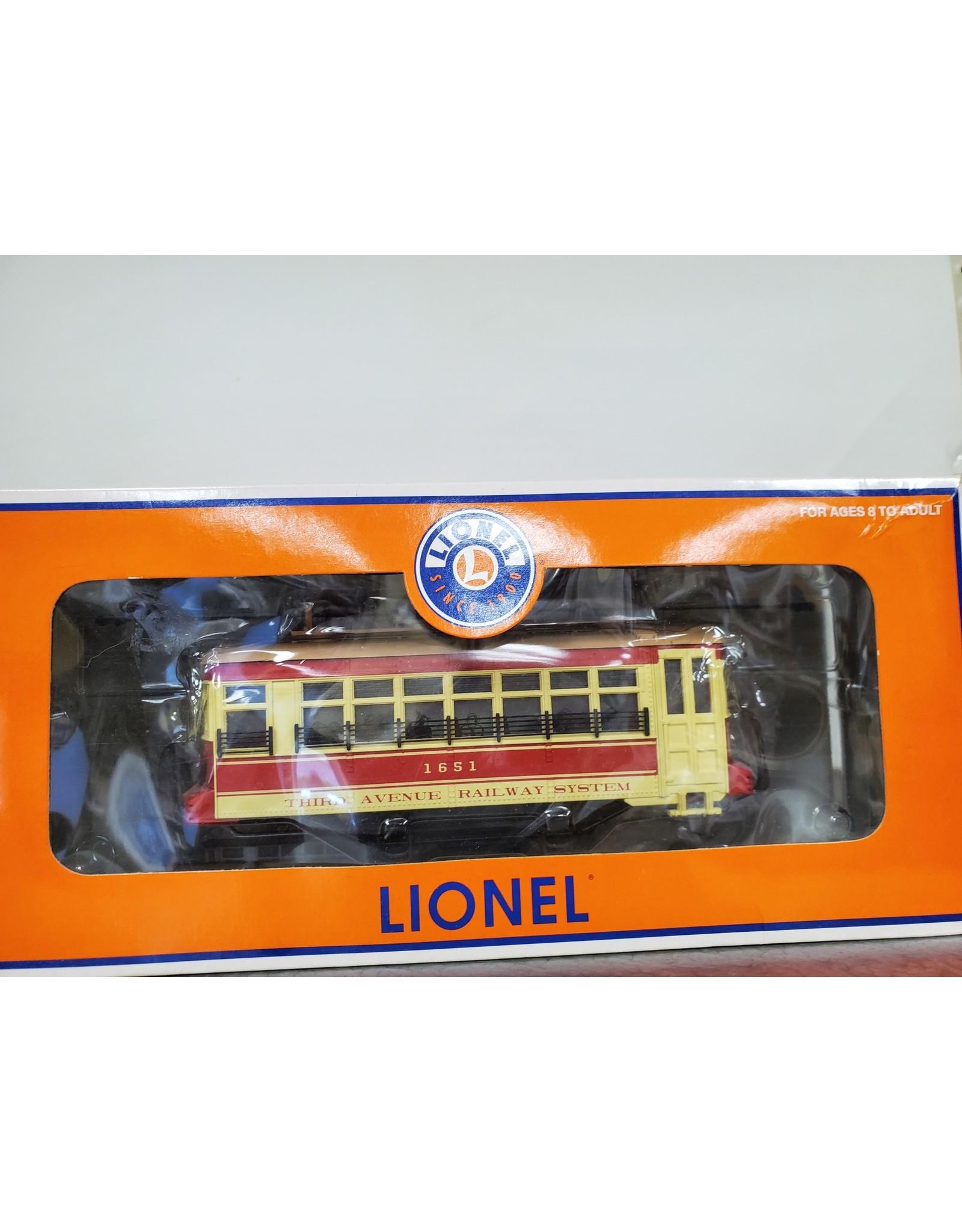 Lionel Trolley 3rd Avenue