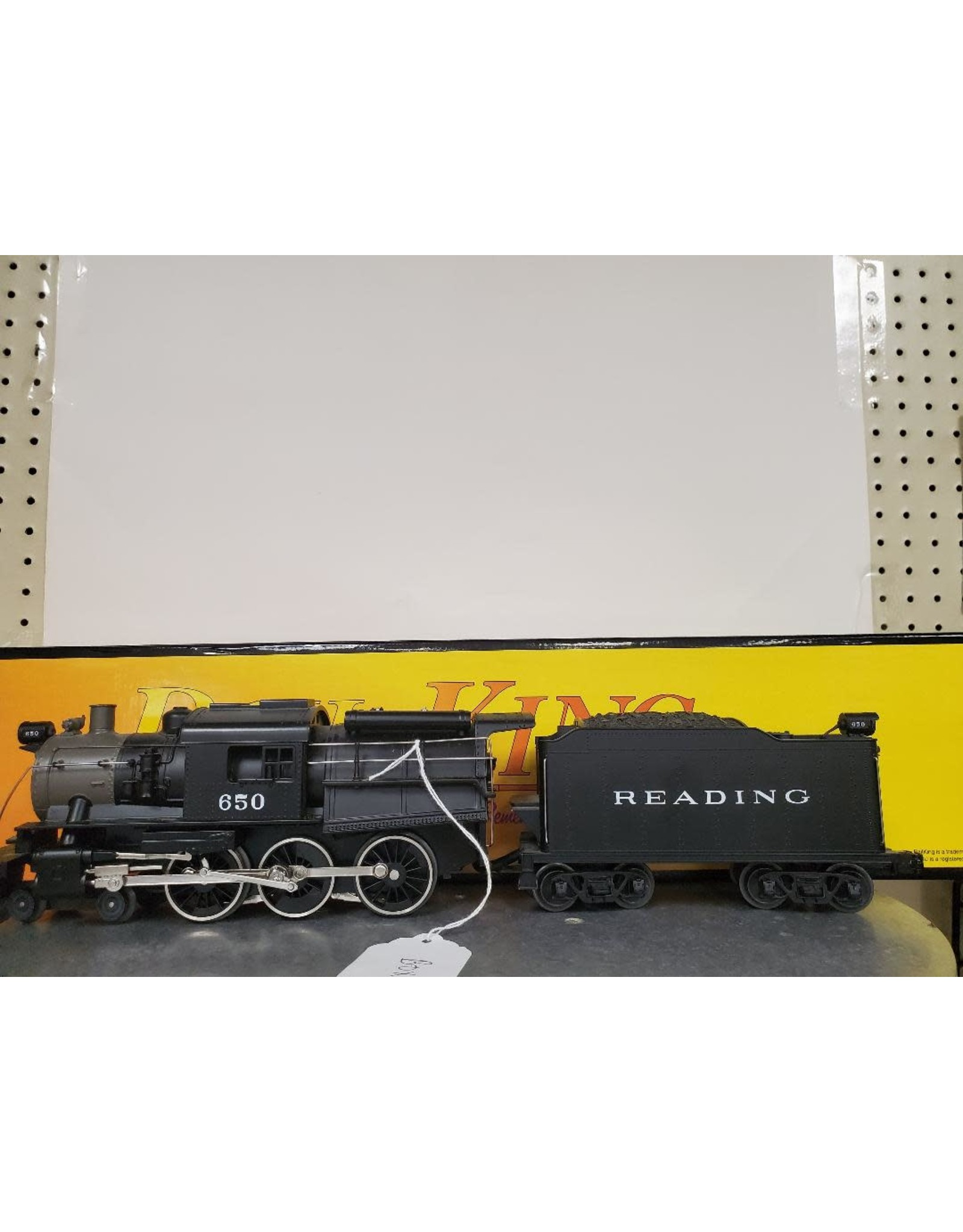MTH Camelback Reading w/Tender and Proto sound PS2