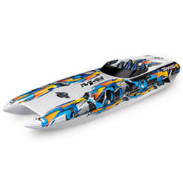 Traxxas 57046-4_HWN DCB M41 Widebody:  Brushless 40' Race Boat with TQi Traxxas Link Enabled 2.4GHz Radio System & Traxxas Stability Management (TSM)