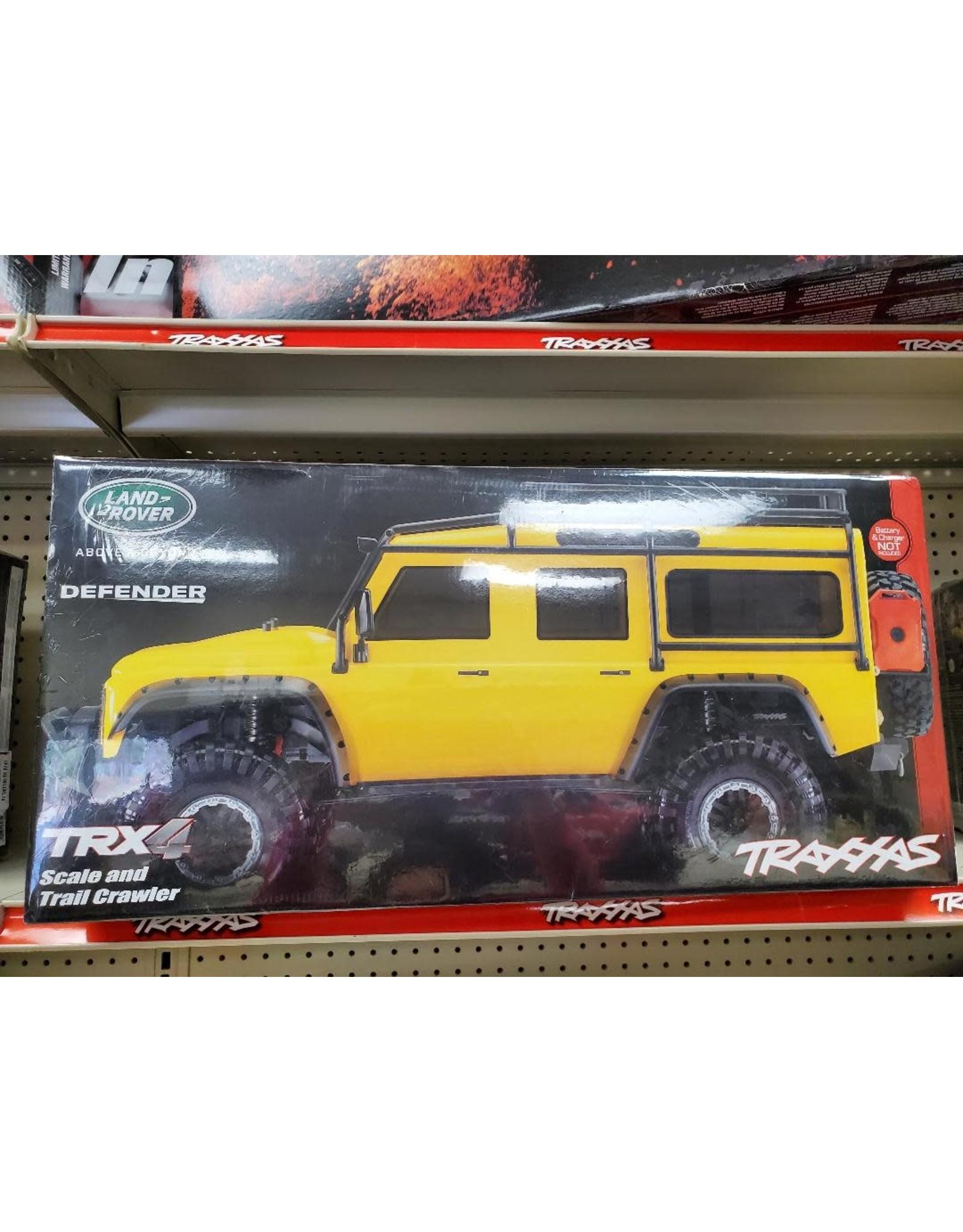Traxxas Yellow TRX-4 Crawler