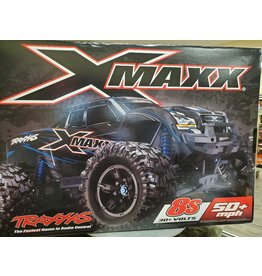 Traxxas GRN X-Maxx: Brushless Electric Monster Truck with TQi Traxxas Link Enabled 2.4GHz Radio System & Traxxas Stability Management (TSM)