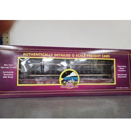 MTH Flat Car - w/Bulkheads Milwaukee Road