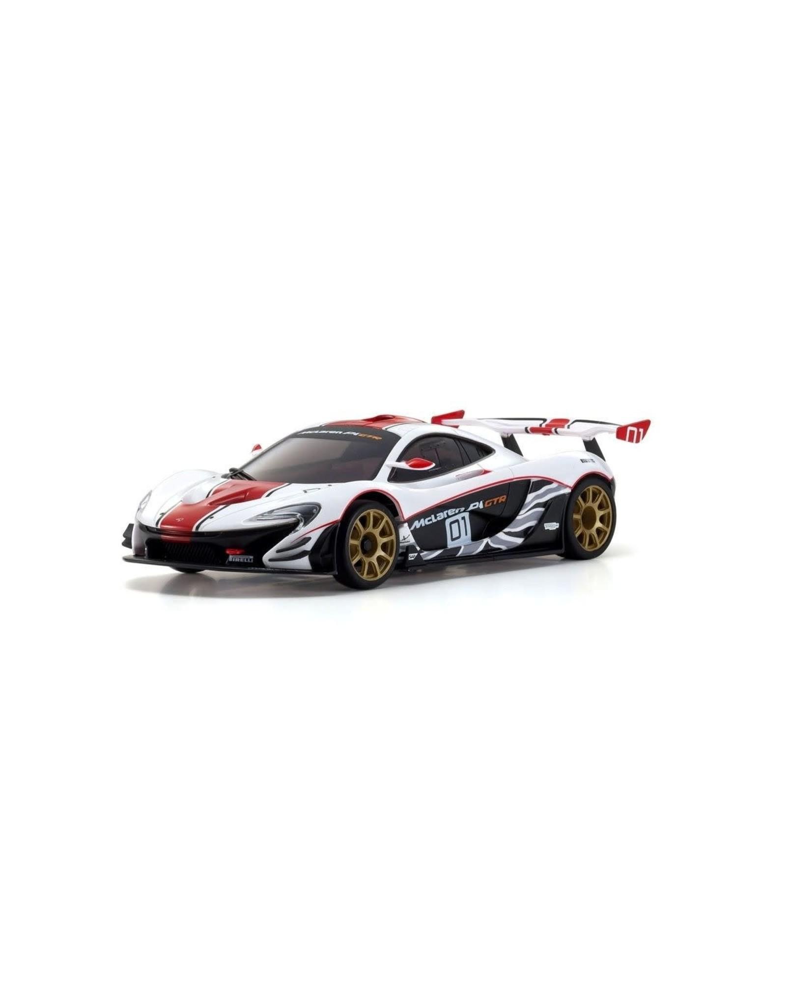 Kyosho MIni Z Rwd Mclaren P1 GTR White/Red