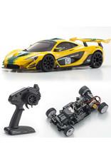 Kyosho Mini Z Mclaren P1 GTR Rwd Green and yellow