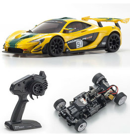 Kyosho Mini Z Mclaren P1 GTR Rwd Green and yellow
