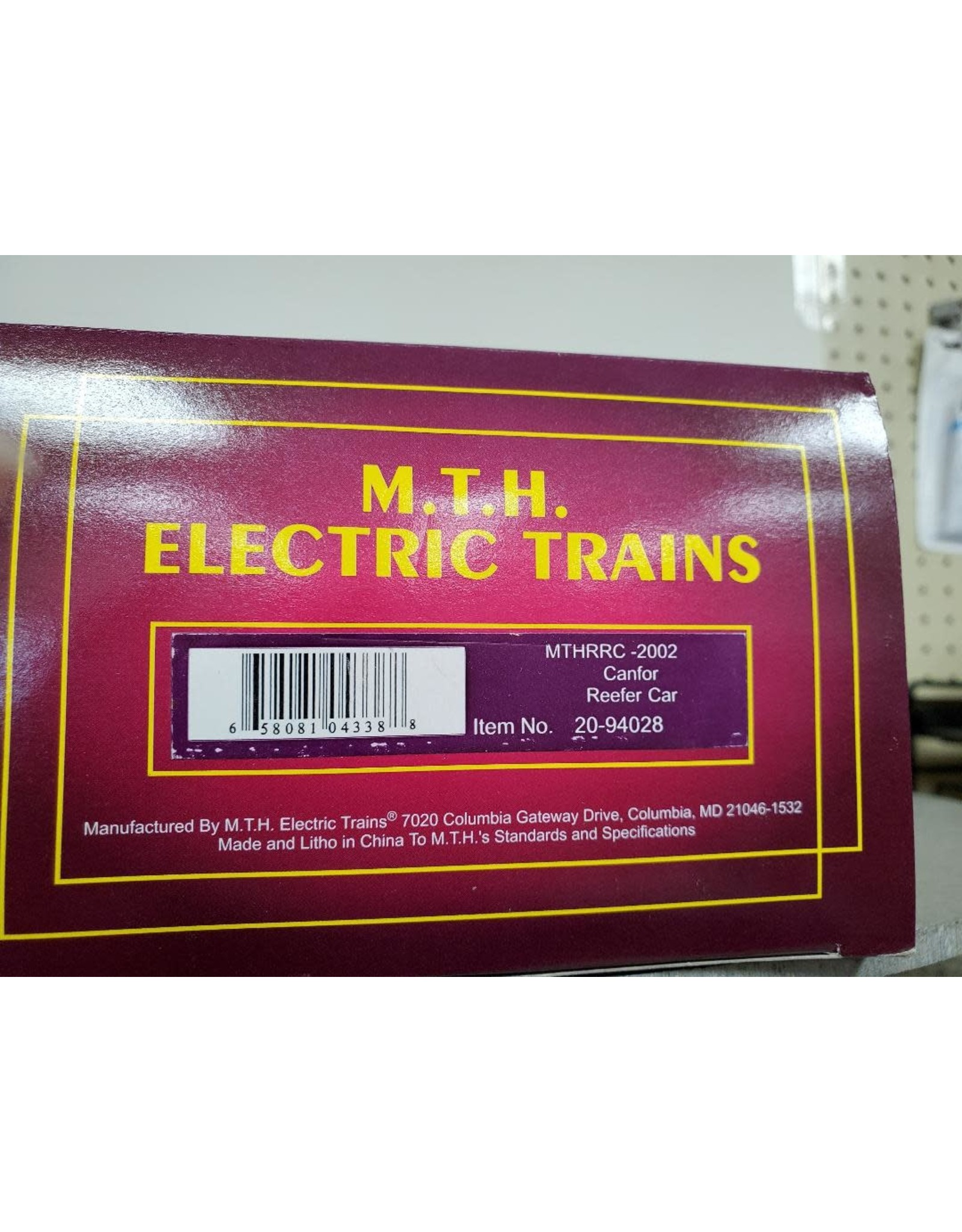 MTH Reefer MTHRRC 2002 Canfor