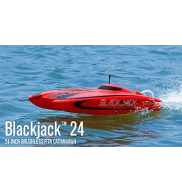 PRB Blackjack 24-inch Catamaran Brushless: RTR